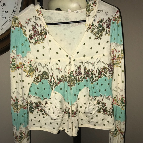 """Anthropologie Sweaters - Anthropology """"Moth"""" brand hooded sweater"""